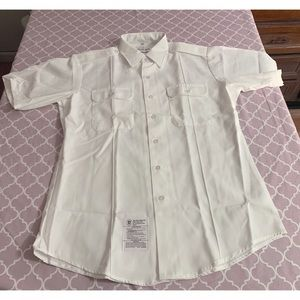 Marlow White • US Army Button up • NEW Military